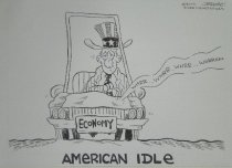 Image of American Idle - Rose, J.R., 1963-